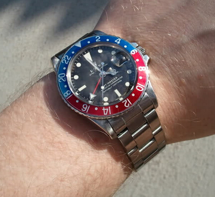Replica Rolex GMT-Master 1675 Hands-on Review