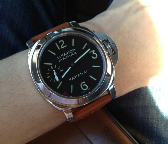 Replica Panerai Luminor Marina PAM00111 Hands-on Review
