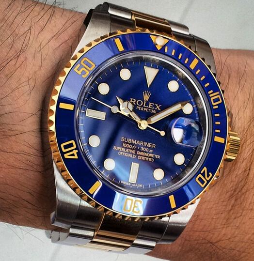 Replica Rolex Submariner Date Blue Dial Hands-on Review