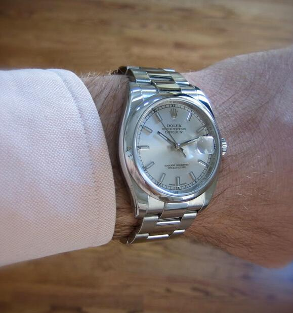 Replica Rolex Oyster Perpetual Datejust 116200 Hands-on Review