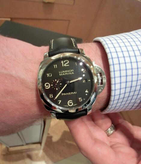 Replica Panerai Luminor Marina 1950 3 Days Automatic Acciaio PAM00359 Hands-on Review