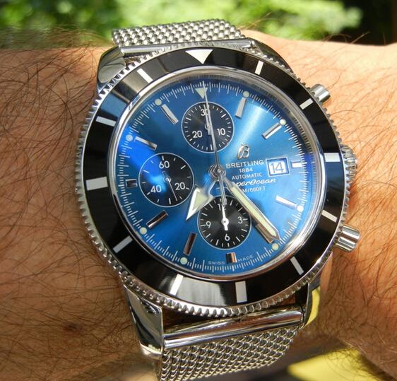 Replica Breitling SuperOcean Heritage 46 Chronograph Review