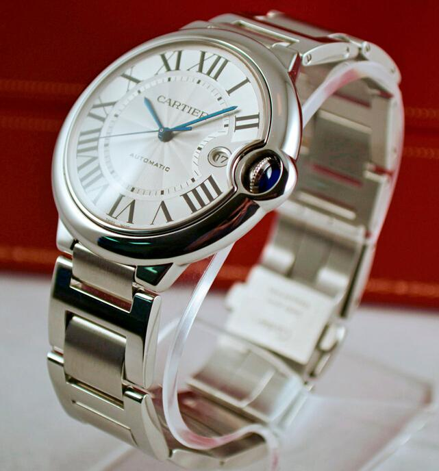 Replica Cartier Ballon Bleu Steel W69012Z4 Watch Review