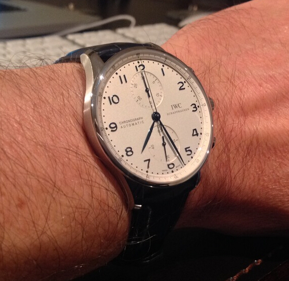 Replica IWC Portuguese Chronograph IW371446 Review