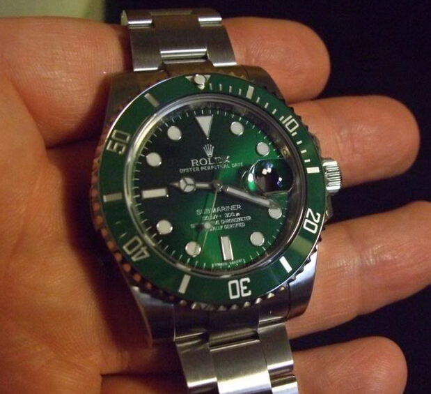 Replica Rolex Submariner Green Dial 116610LV Review