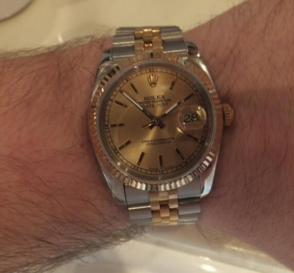 Replica Rolex Datejust 116233 Review