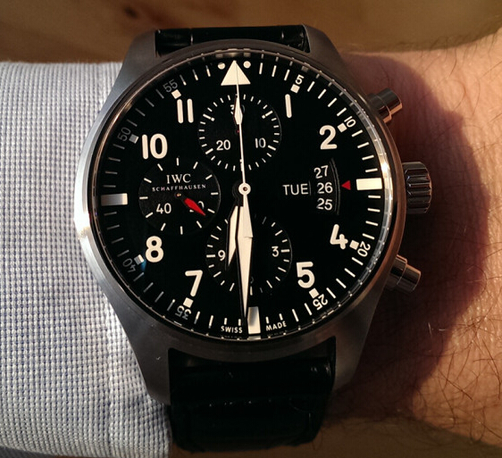 Replica IWC Pilot's Chronograph IW377701 Review