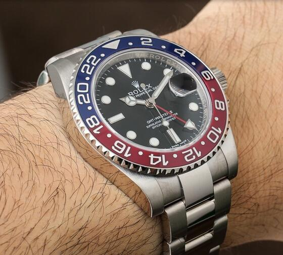 Replica Rolex GMT-Master II Pepsi 116719 BLRO Review