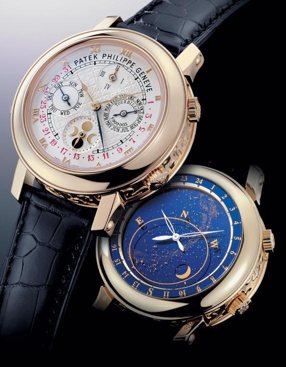 Replica Patek Philippe Sky Moon Tourbillon 5002J