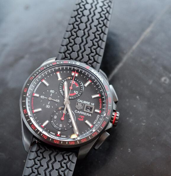 TAG Heuer Carrera Calibre 16 Senna black