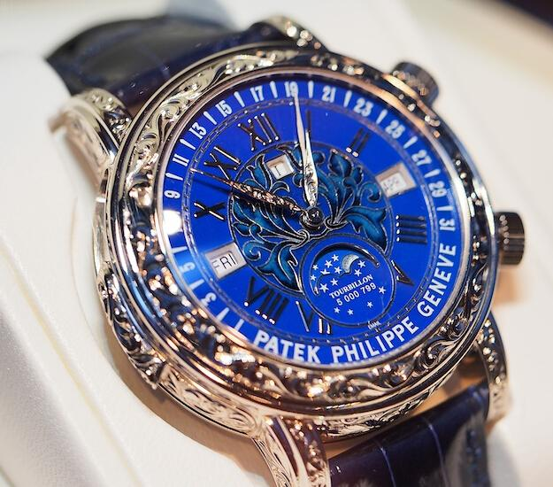 Replica Patek Philippe Sky Moon Tourbillon 6002G Review