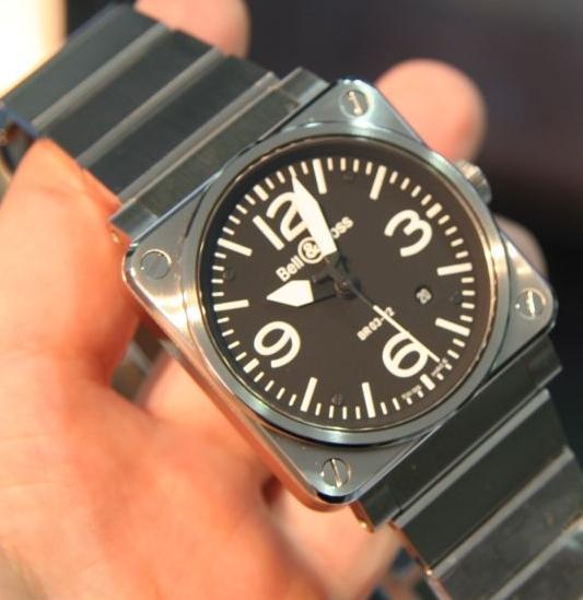 Replica Bell & Ross BR03-92 Metal Bracelet Review