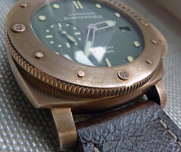 Replica Panerai Luminor Submersible 1950 3 Days Automatic Bronzo PAM00382 Review
