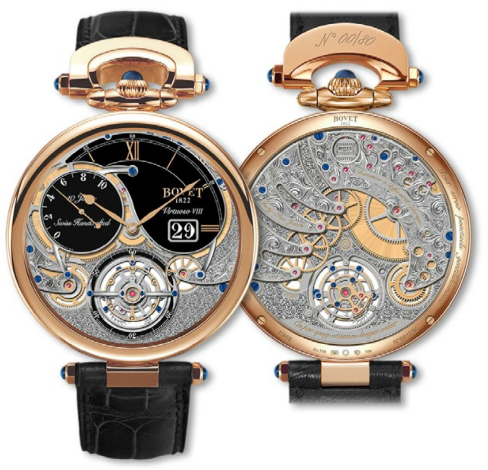 AAA Replica Bovet Virtuoso VIII 10-Day Tourbillon Watch Review From http://www.replicawatchviews.com/!