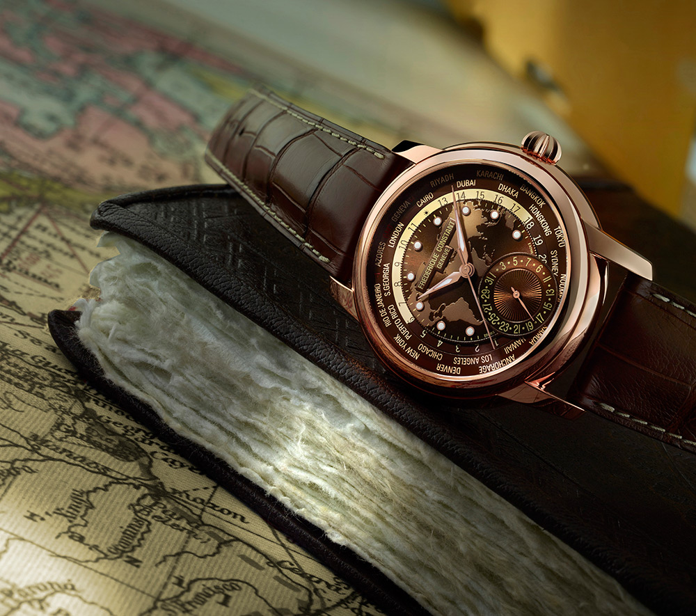 Review New Frederique Constant Classic Worldtimer Watch Replica From http://www.replicawatchviews.com/!