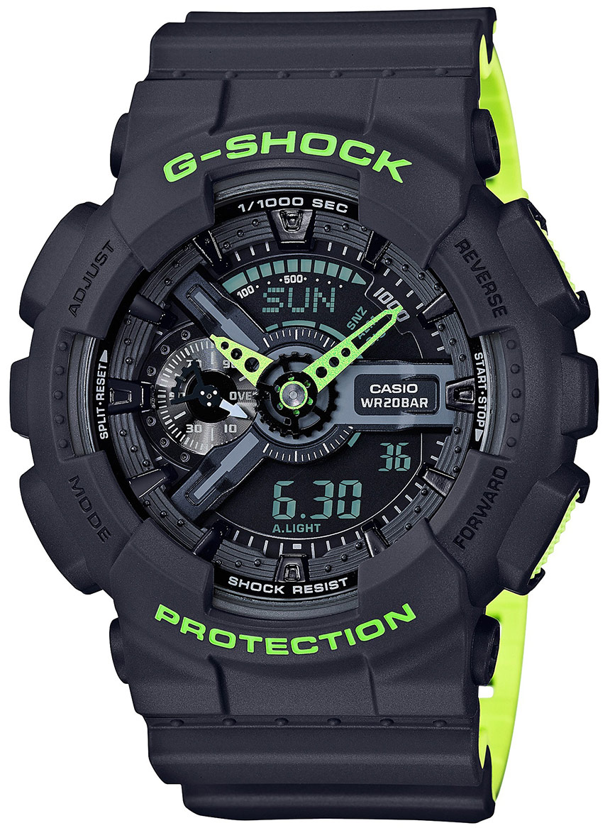 Review New Casio G-Shock GA110LN Watch Replica 2
