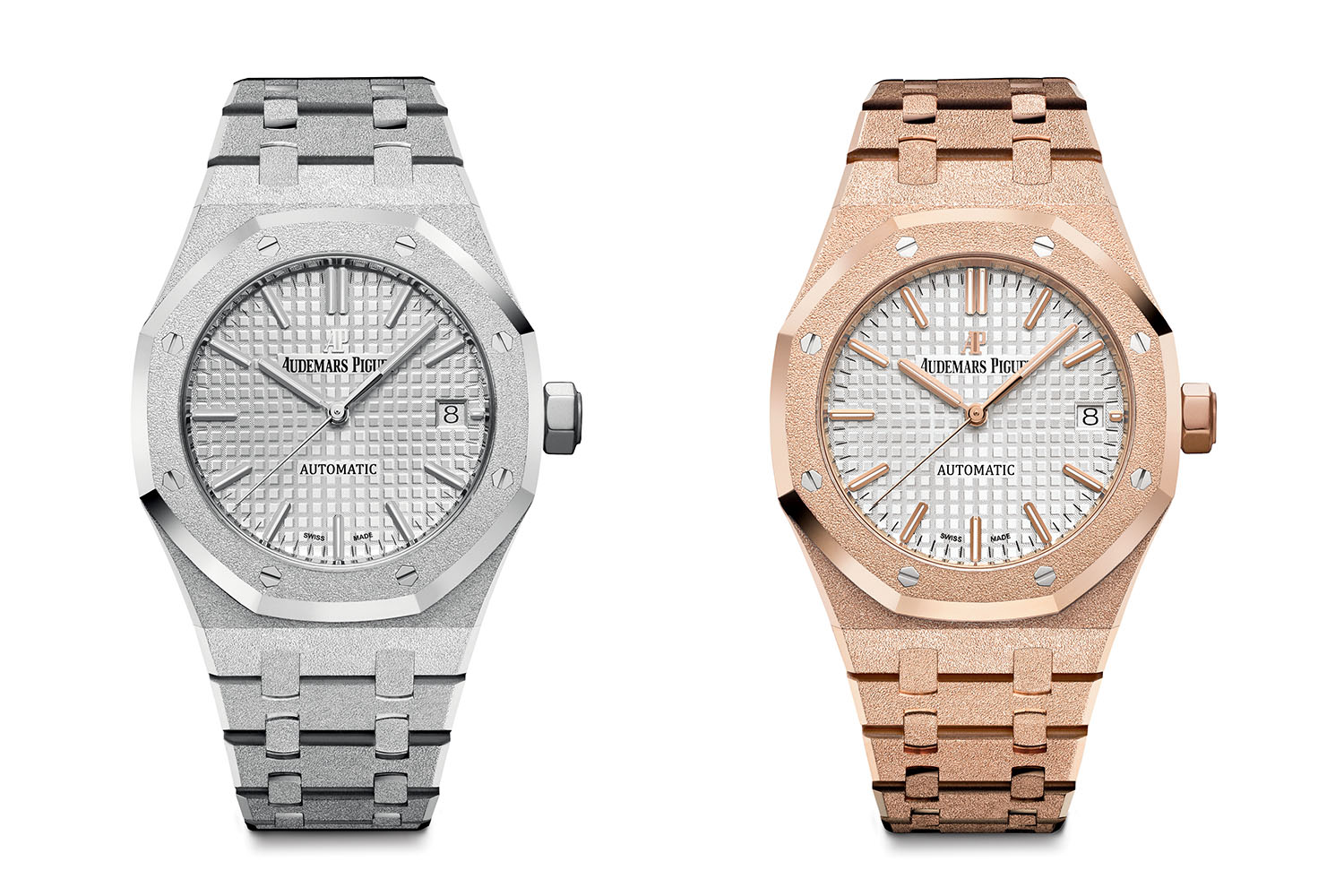 Replica Audemars Piguet Royal Oak Frosted Gold Watch