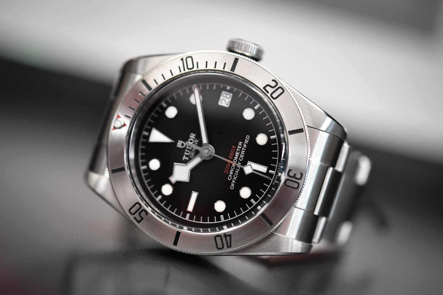 BASELWORLD 2017 Tudor Heritage Black Bay Date Watch Replica