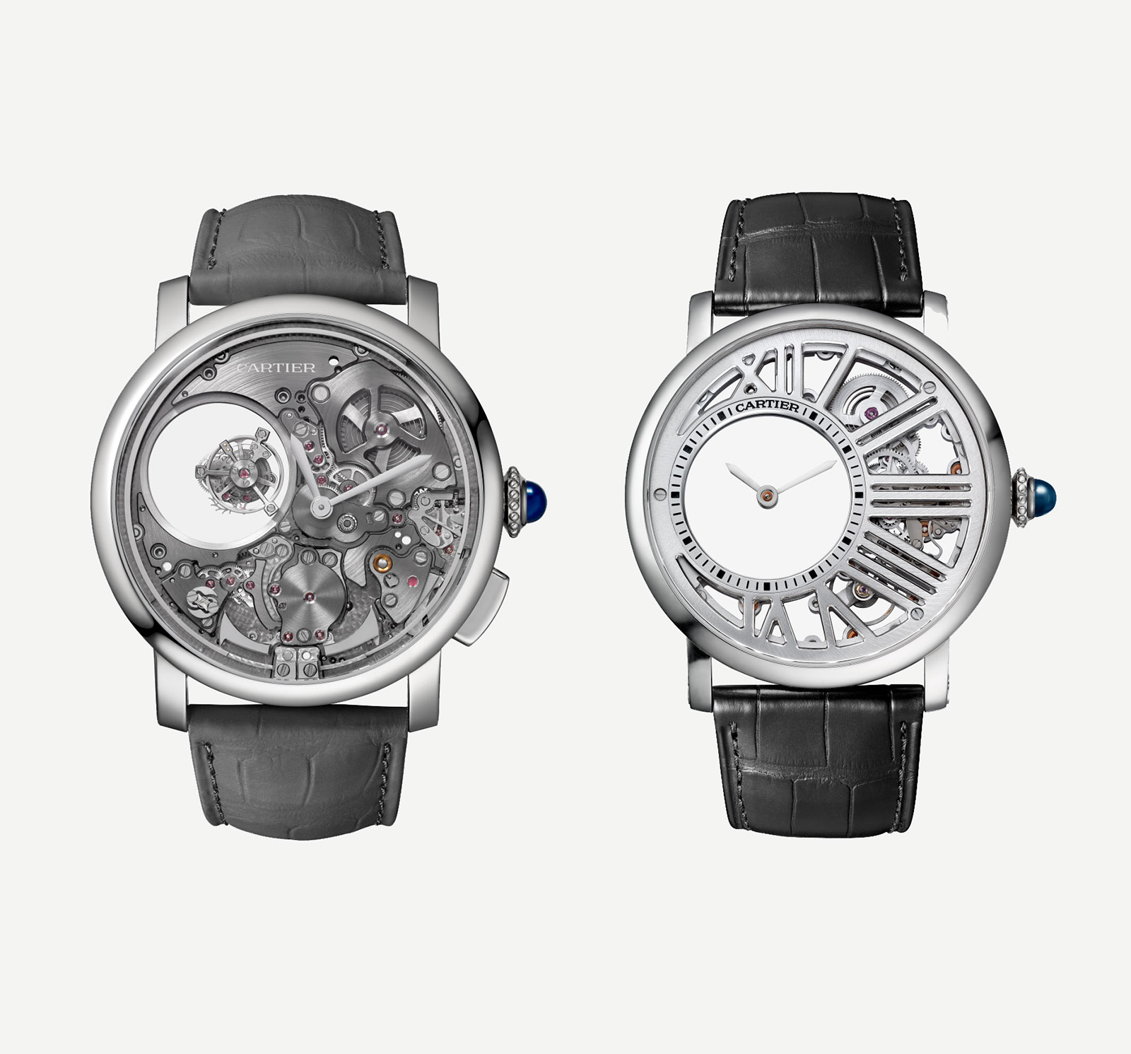 Replica Cartier Rotonde de Cartier Minute Repeater Mysterious Watch