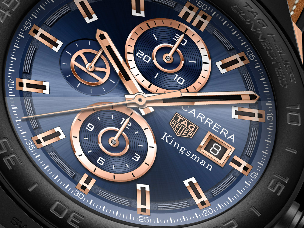 Replica TAG Heuer Connected Modular 45 Golden Circle Movie Edition Review