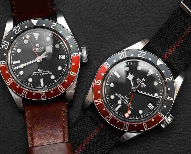 Swiss Tudor Black Bay GMT Chronometer Replica Watch Guide For 2018