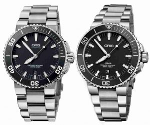 Swiss Replica Oris Aquis Date Blue Dial Dive Watches Introduce