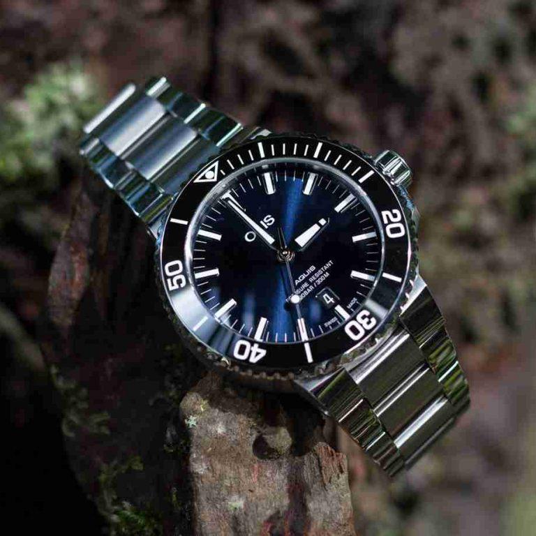 Swiss Replica Oris Aquis Date Blue Dial Dive Watches Introduce