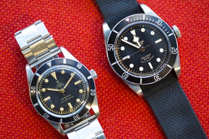 Take A Close Look At Swiss Tudor Black Bay Replica Watch From The Manufacture