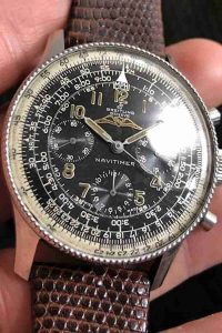 A Breitling Navitimer AOPA 806 And A Rolex Oyster Perpetual 6564 Replica Watches For 2019 Easter