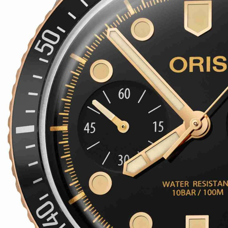 The Oris Divers Sixty-Five Chronograph Replica
