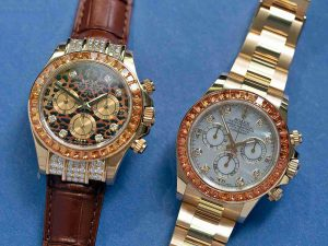 Review of The Rolex Cosmograph Daytona Orange Sapphires 116578SACO Replica