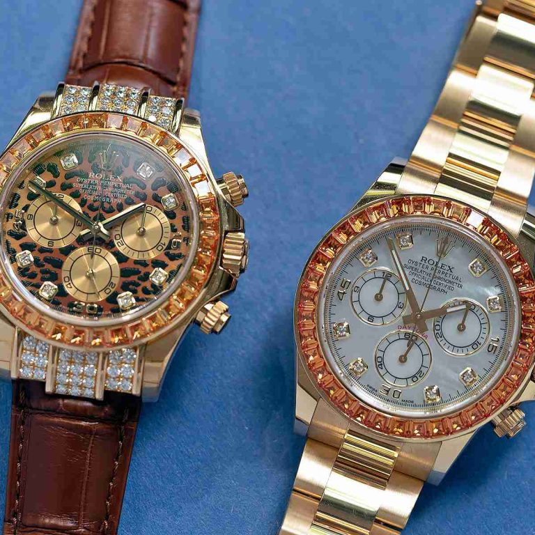 Review of The Rolex Cosmograph Daytona Orange Sapphires 116578SACO Replica