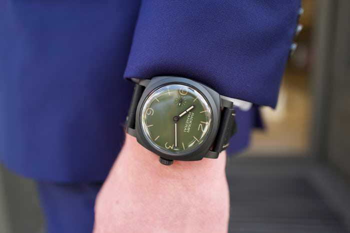 Swiss Officine Panerai Radiomir 1940 3 Days Matte Green Dial Replica Review
