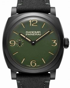 2019 Latest Update Swiss Panerai Radiomir Automatic Green Dial Replica Watches Collection