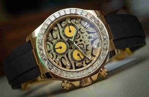 New Rolex Daytona Eye Of The Tiger 116588TBR Replica Watch Recommended For Black Friday