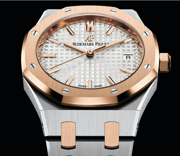 New Replica Audemars Piguet Royal Oak Automatic Pink Gold 34mm Watches Discussion