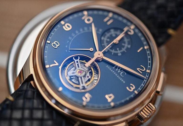 Replica IWC Portugieser Tourbillon Retrograde Chronograph Boutique Edition IW394005 Watch Review