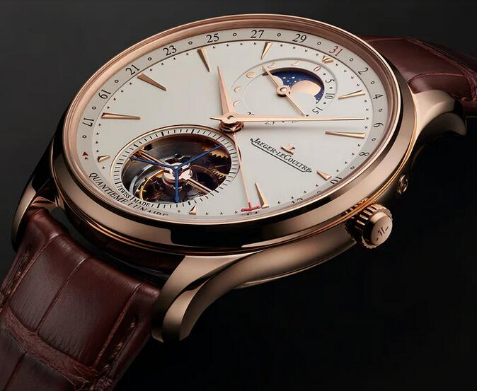 Replica Jaeger-LeCoultre Master Ultra-Thin Tourbillon Moonphase 41mm Watch Introducing 1