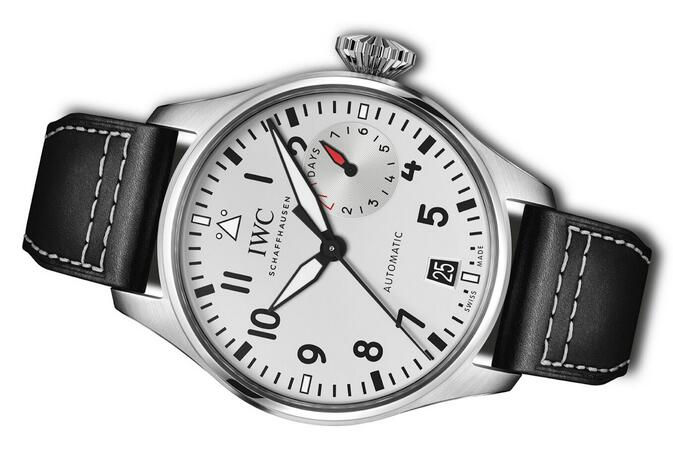 Limited Edition Replica IWC Big Pilot's Las Vegas Stainless Steel 46mm Watch Guide 1