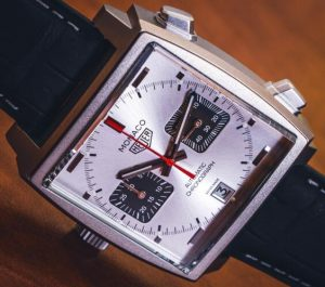 Limited Edition Classic Replica TAG Heuer Monaco Automatic Chronograph Titan 39mm Watch Guide 3