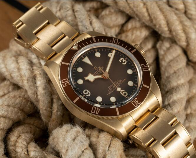New Replica Tudor Heritage Black Bay Fifty-Eight Bronze Boutique Edition Watches Guide 1