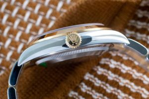 Replica Rolex Explorer Two-Tone 18K Yellow Gold Steel 36mm Ref. 124273 Watch Guide 1