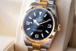 Replica Rolex Explorer Two-Tone 18K Yellow Gold Steel 36mm Ref. 124273 Watch Guide 2
