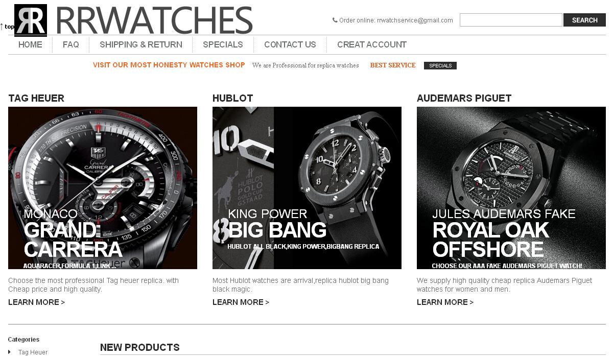 Rrwatches.cn - Fake Hublot Watches For Sale