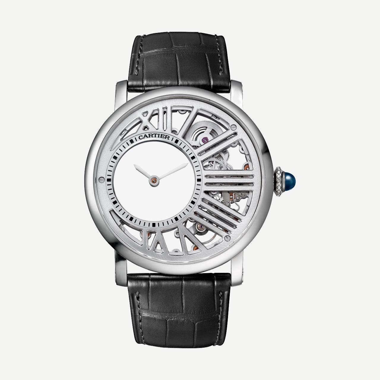 Replica Cartier Rotonde de Cartier Minute Repeater Mysterious Watch