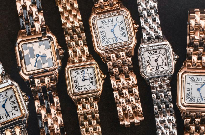 SIHH 2017 Reviews Replica Cartier Panthère De Cartier Watches