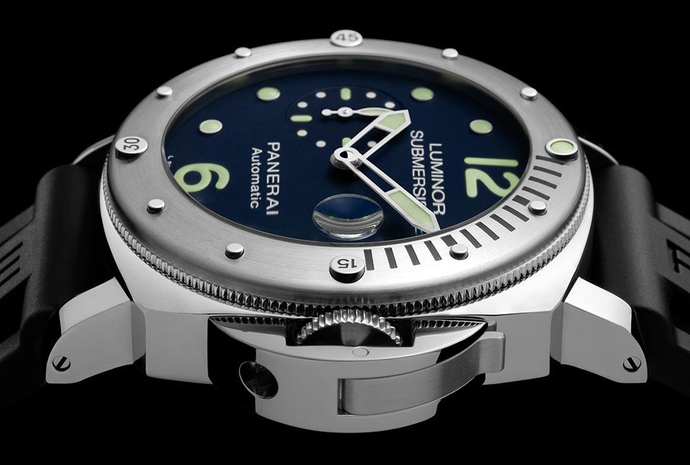 Replica Panerai Luminor Submersible Automatic Acciaio PAM731 Watch Review