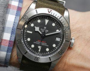 Baselworld TOP Tudor Heritage Black Bay Steel Replica Watch Review