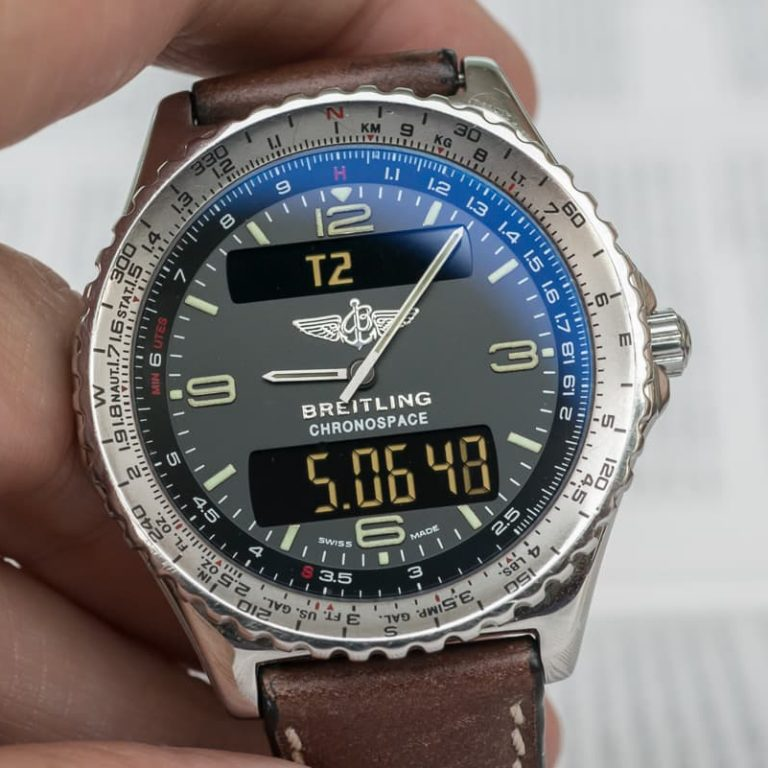 Replica Breitling Chronospace Reference A56012.01 Watch Review
