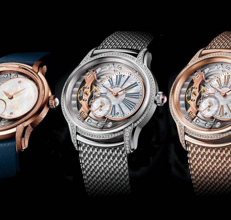 Best Replica Audemars Piguet Millenary 2018 Collection 18k Gold Watch Gift